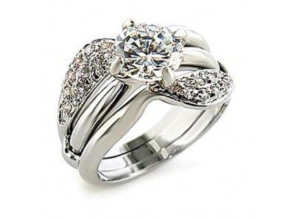 PR0336ZR prsten so zirkonmi