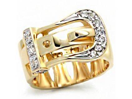 PR4256ZG - Opasok - prsteň so zirkónmi