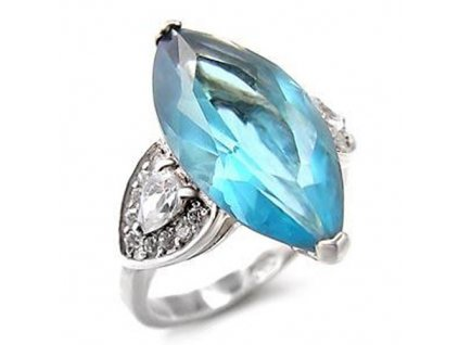 PR4330ZSS strieborny prsten so zirkonmi