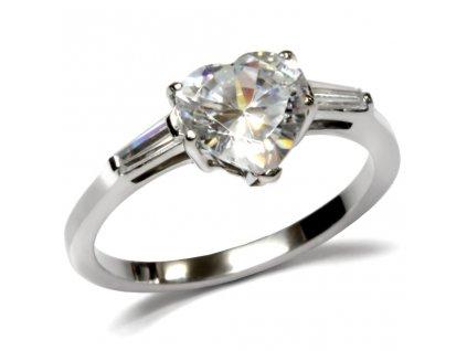 PR1234ZOC prsten srdiecko z chirurgickej ocele
