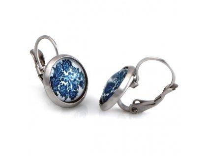 NA3814OC nausnice ocelove damske modre
