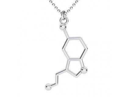 NH8193SS serotonin strieborny nahrdelnik