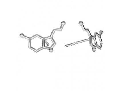 NA9814SS serotonin strieborne nausnice