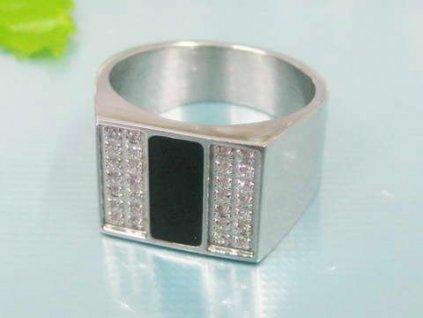 PR1276ZOC Pánsky prsteň z chirurgickej ocele