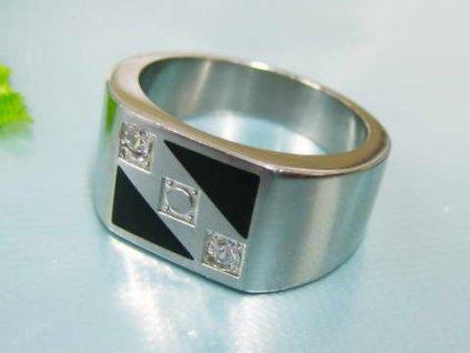 PR1277ZOC Pánsky prsteň z chirurgickej ocele