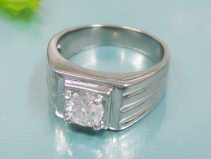 PR1278ZOC Pánsky prsteň z chirurgickej ocele