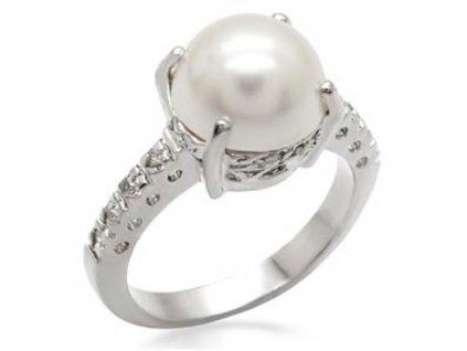 PR4344ZPR - Prsteň so syntetickou perlou