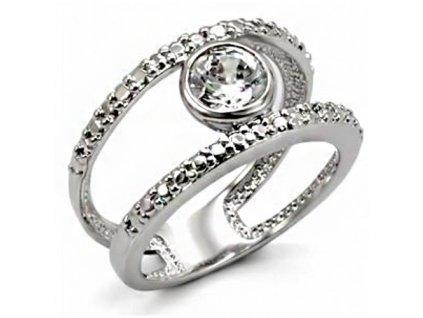 PR4345ZR prsten so zirkonmi