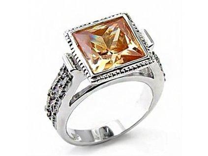 PR4348ZSS strieborny prsten zirkony
