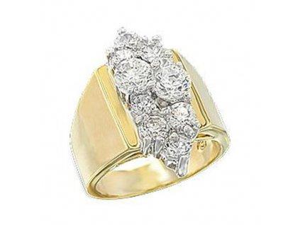 PR4403ZGR prsten so zirkonmi