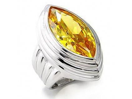PR4404ZSSR strieborny prsten so zirkonom