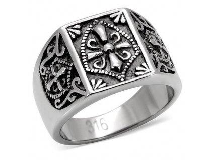 PR6008OC - Pánsky prsteň z chirurgickej ocele