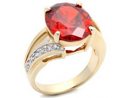 PR0326ZGR prsten so zirkonmi