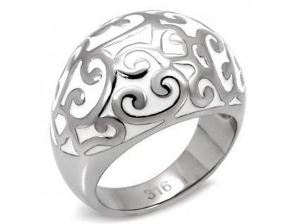 PR1345OC ocelovy prsten