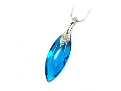 PV6010ZRSS strieborny privesok modry