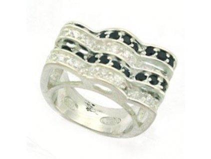 prsten striebro zirkony2