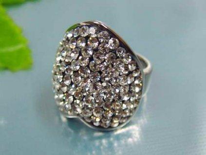 PR1378ZOC - Veľké srdce - prsteň z chirurgickej ocele