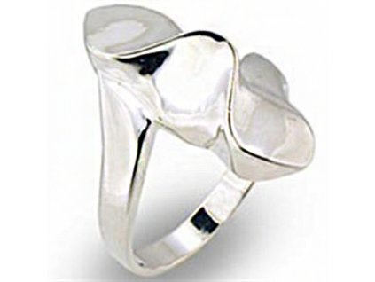 PR0554SS strieborny prsten