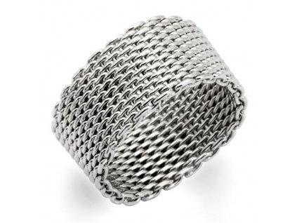 PR6049R - Opasok - ródiovaný prsteň