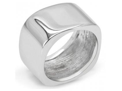 PR6052OC ocelovy prsten stvorec