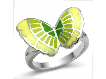 PR6087OC motylik prsten z chirurgickej ocele