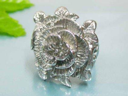 PR6104OC Ruža - Oceľový prsteň