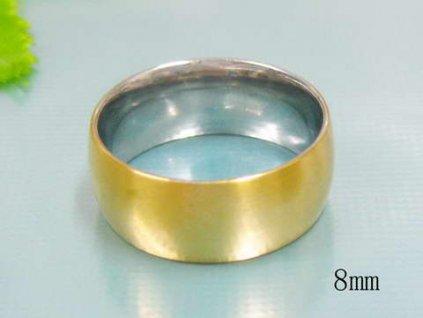 PR6110GOC Oceľový prsteň