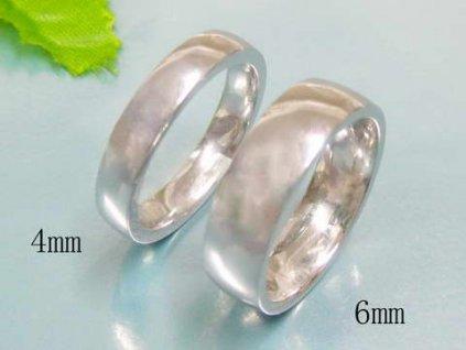 PR6111OC Oceľový prsteň dva v jednom