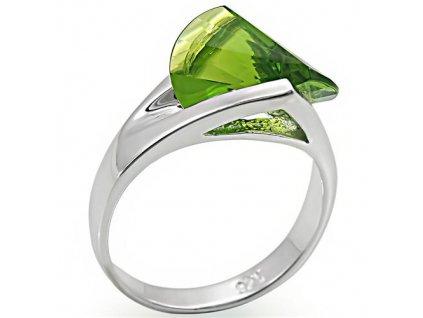 PR4567ZSS - Strieborný prsteň so zirkónom
