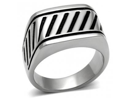PR6138OC - Pánsky oceľový prsteň
