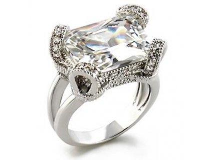 elegantny prsten zirkony