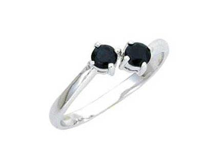 PR4582ZSS - Strieborný prsteň so zirkónmi