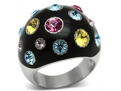 PR6174SWOC swarovski farebny prsten