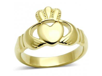 PR6175GOC srdiecko ocelovy prsten