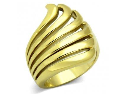 PR6218GOC pozlateny ocelovy prsten