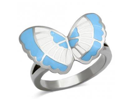PR6226OC Motýľ - Prsteň z chirurgickej ocele