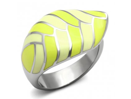 PR6227OC list prsten z chirurgickej ocele