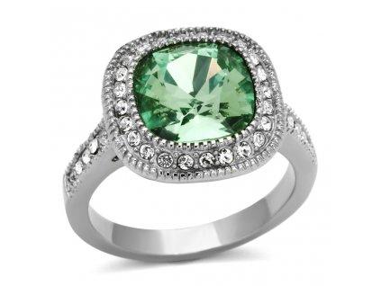 PR6241SWOC swarovski ocelovy prsten