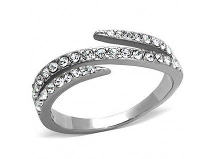 PR6278SWOC prsten swarovski ocel