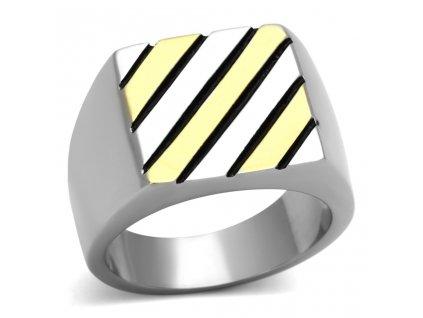 PR6298GOC - Pánsky prsteň z chirurgickej ocele