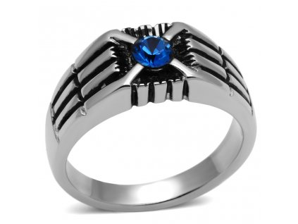 PR6299SWOC - Pánsky prsteň so Swarovski krištálom