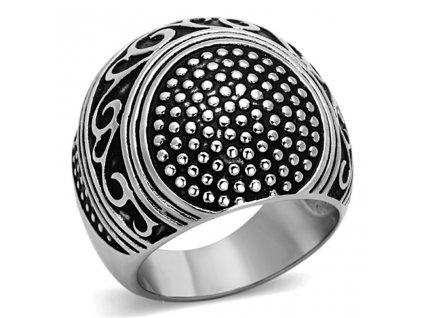 PR6305EOC ocelovy prsten s epoxy