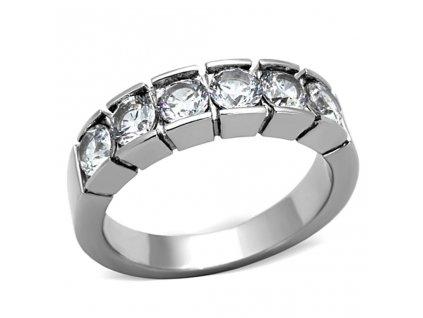 PR6307ZOC prsten z chirurgickej ocele zirkony