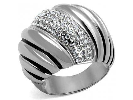 PR6311SWOC swarovski prsten ocelovy