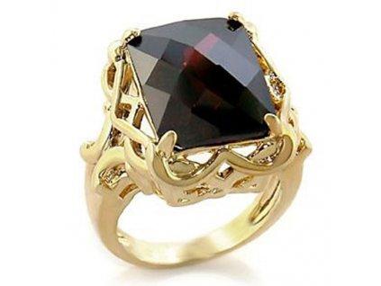 PR0611ZG prsten so zirkonmi