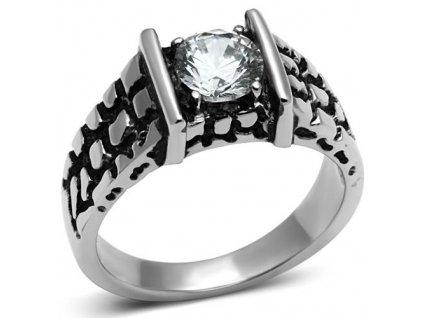 PR6461ZOC - Pánsky prsteň z chirurgickej ocele