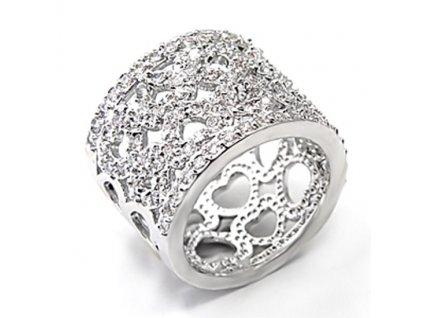 Prsten so zirkonm10