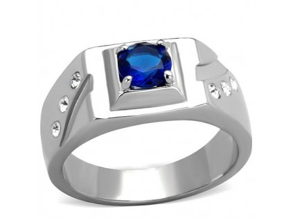 PR6480ZOC - Pánsky prsteň so zirkónmi