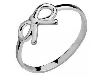 PR7016RSS Mašlička Strieborný prsteň