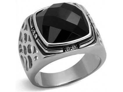 PR6498ZOC Pánsky oceľový prsteň